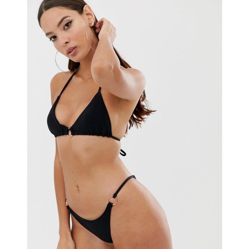 フランキーズ Frankie s レディース 水着・ビーチウェア ボトムのみ【Frankies Bikinis Isabelle bikini bottom】Black