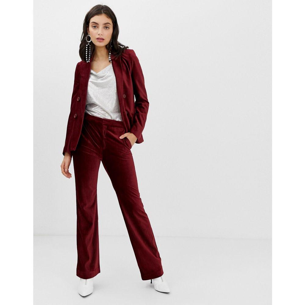 インウェア In Wear レディース ボトムス・パンツ【Talia corduroy flared trousers】Cabernet