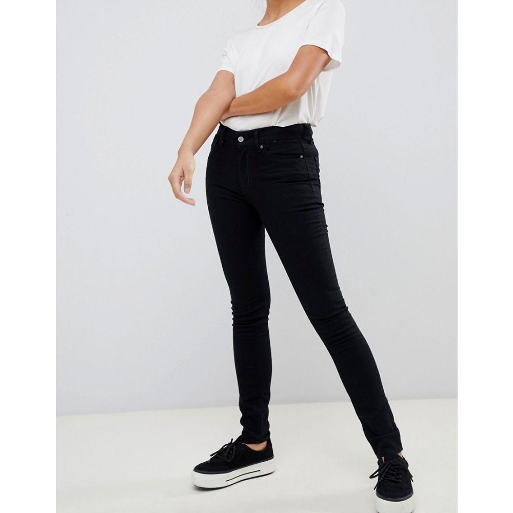 キングスオブインディゴ Kings Of Indigo レディース ボトムス・パンツ ジーンズ・デニム【Juno organic cotton high waist skinny jean】Black rinse