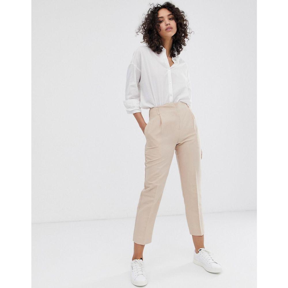 ファインリー Finery レディース ボトムス・パンツ【Oliver linen blend trousers】Pale pink