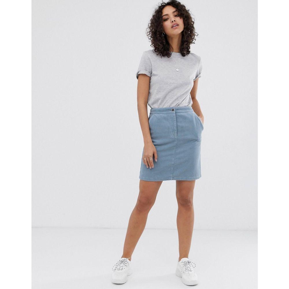 ファインリー Finery レディース スカート【Selma cord skirt】Moody blue