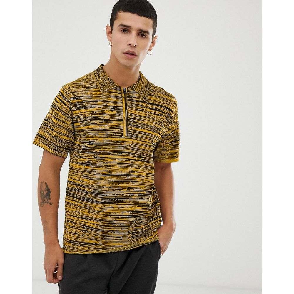 タイガー オブ スウェーデン Tiger of Sweden Jeans メンズ トップス ポロシャツ【knitted polo in yellow】Yellow
