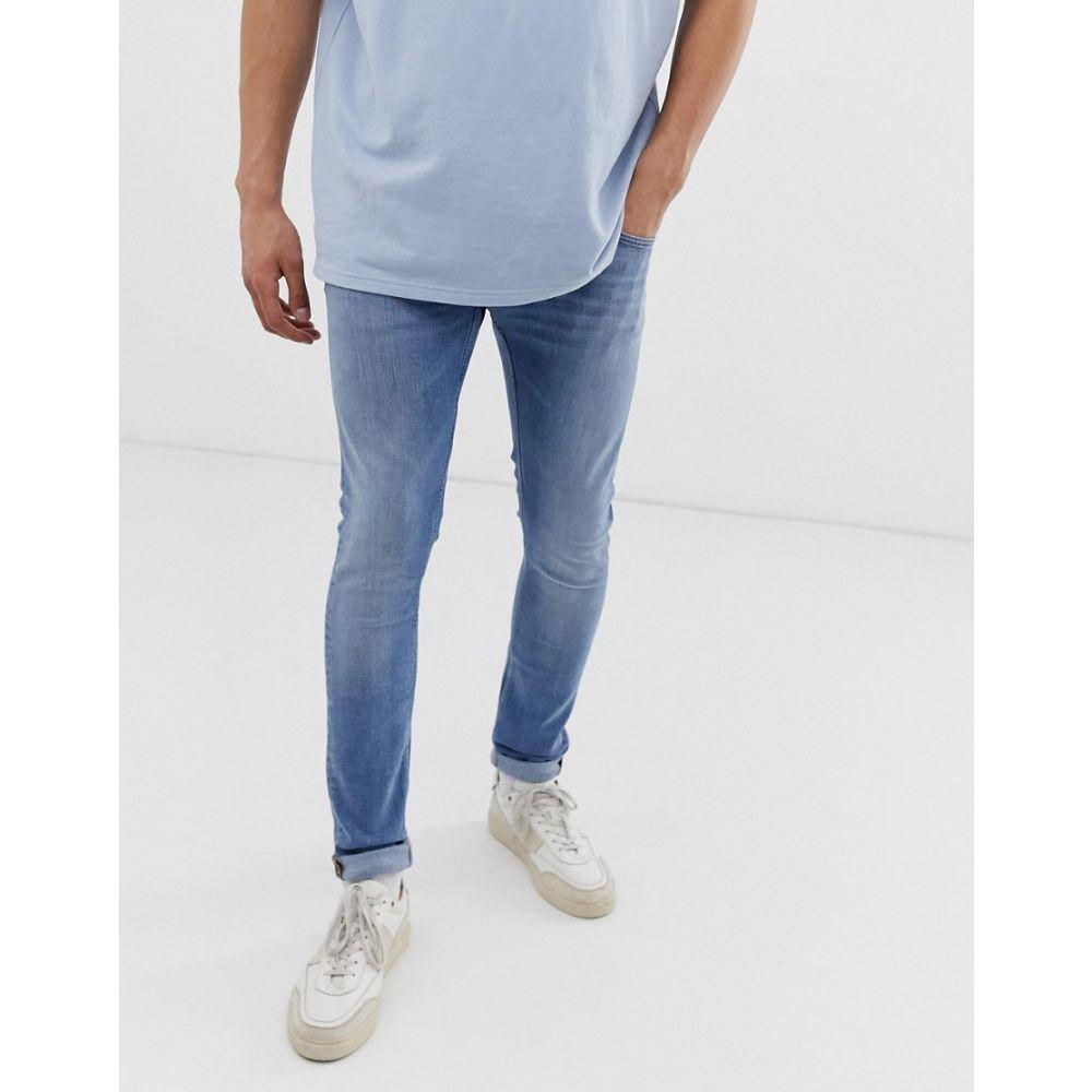 タイガー オブ スウェーデン Tiger of Sweden Jeans メンズ ボトムス・パンツ ジーンズ・デニム【slim fit jeans in light wash】Blue
