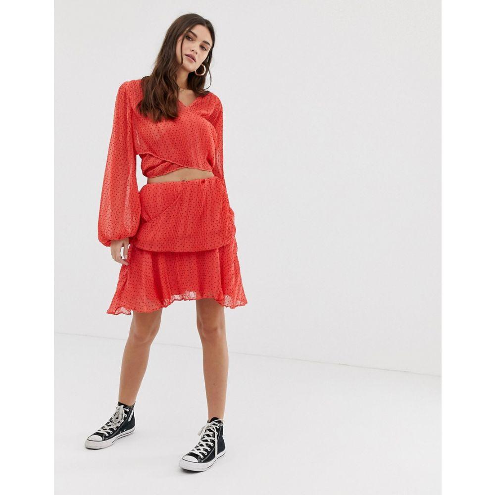 イーストオーダー The East Order レディース スカート【Teneille skirt】Watermelon fizz