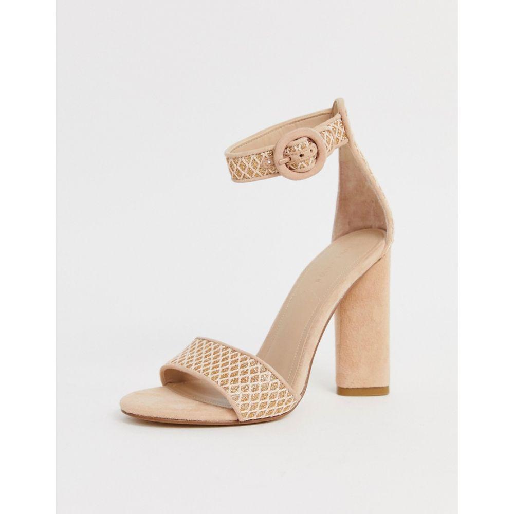 ケンダル&カイリー Kendall + Kylie レディース シューズ・靴 サンダル・ミュール【block heeled sandals】Beige