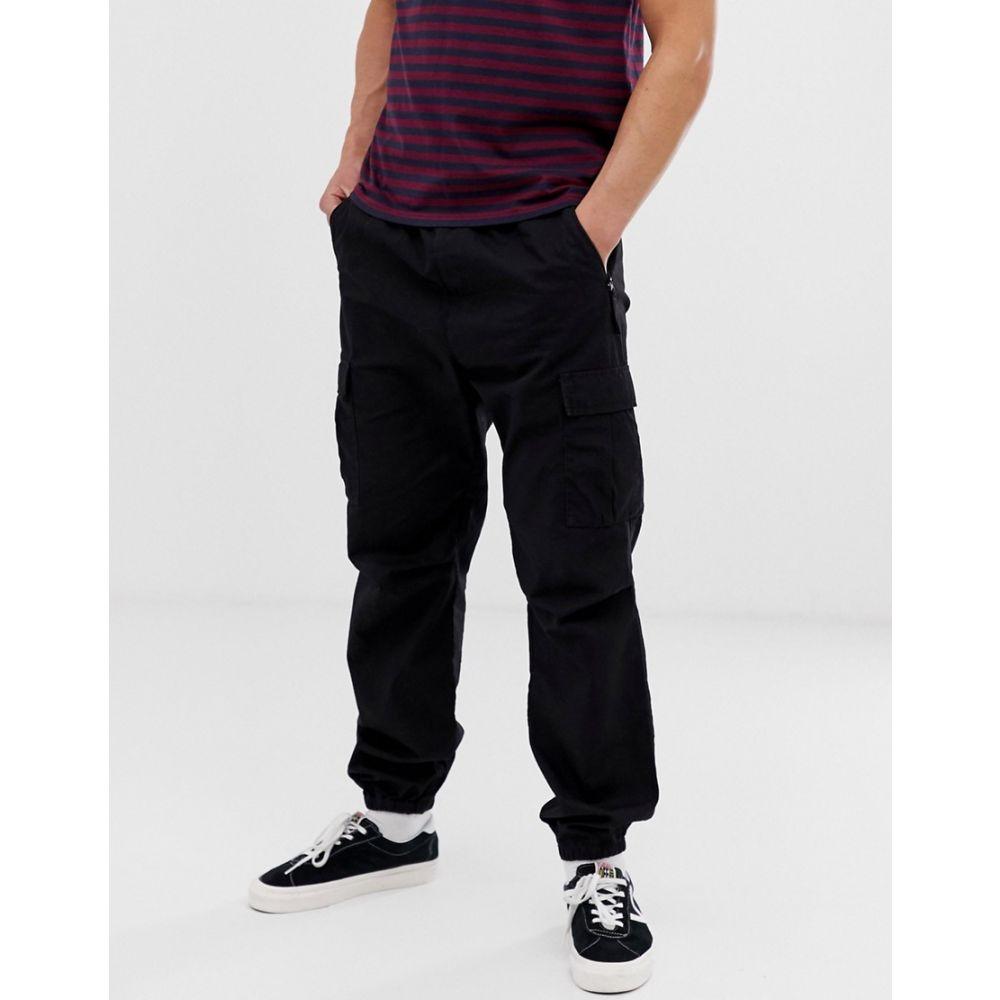 カーハート Carhartt WIP メンズ ボトムス・パンツ ジョガーパンツ【woven cargo jogger in black】Black