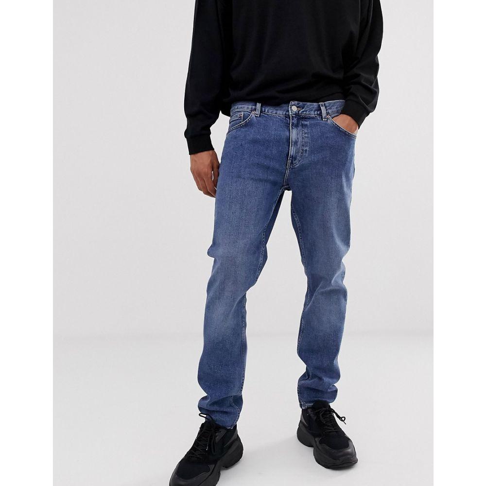 ウィークデイ Weekday メンズ ボトムス・パンツ ジーンズ・デニム【Sunday relaxed tapered comfort fit jeans in blue】Blue