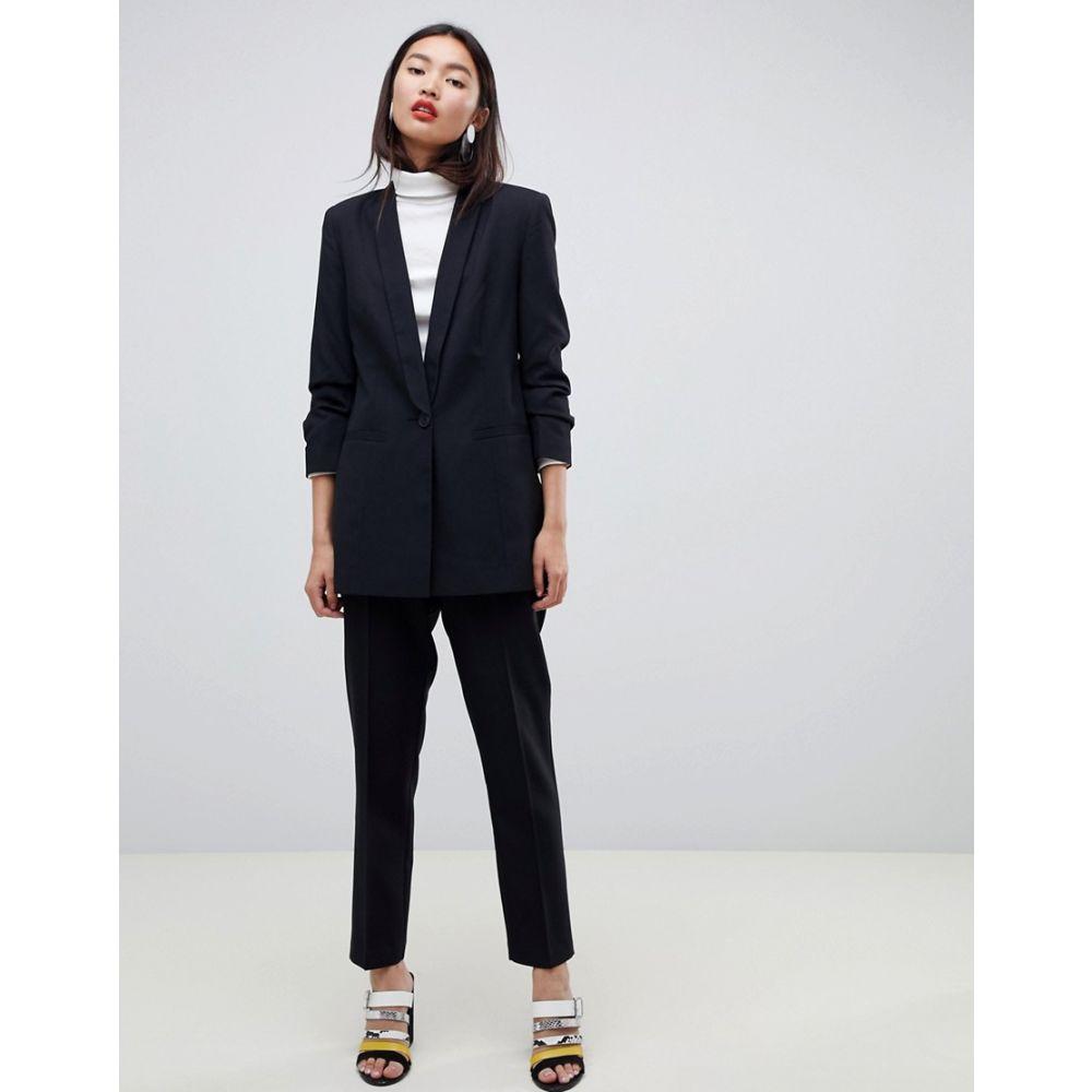 エイソス ASOS DESIGN レディース アウター スーツ・ジャケット【mix & match suit blazer】Black
