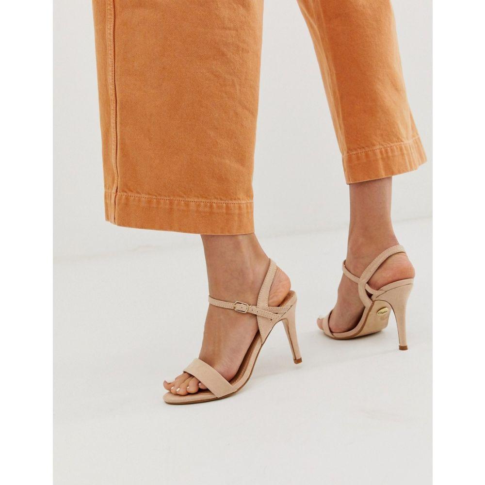 バッファロー Buffalo レディース シューズ・靴 サンダル・ミュール【heeled Sandal in cream】Tan