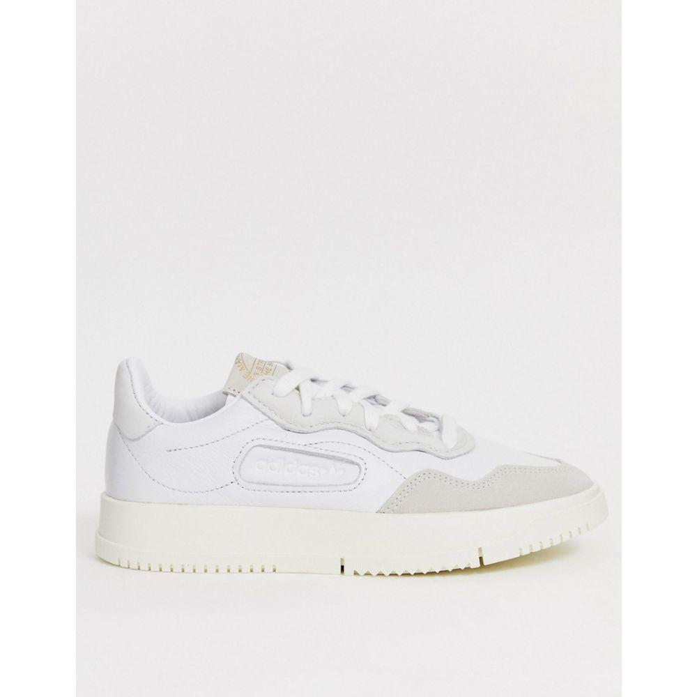 アディダス adidas Originals レディース シューズ・靴 スニーカー【SC Premiere trainer in white】Crystal white