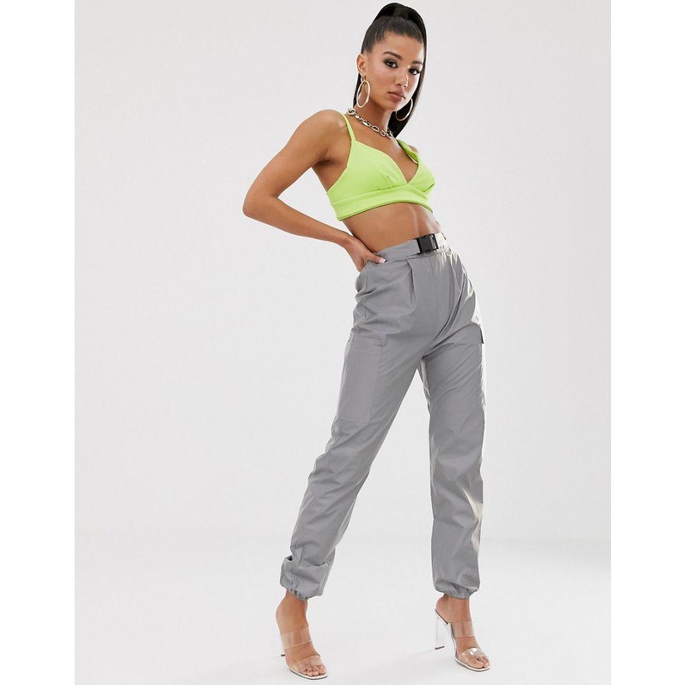 ナーナー NaaNaa レディース ボトムス・パンツ【reflective utility trouser】Silver