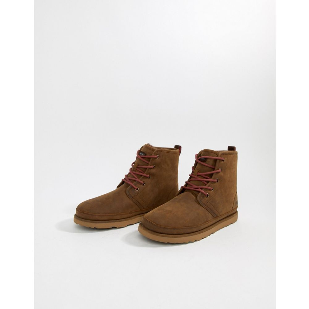 アグ UGG メンズ シューズ・靴 ブーツ【Harkley Treadlite waterproof boots in brown suede】Brown