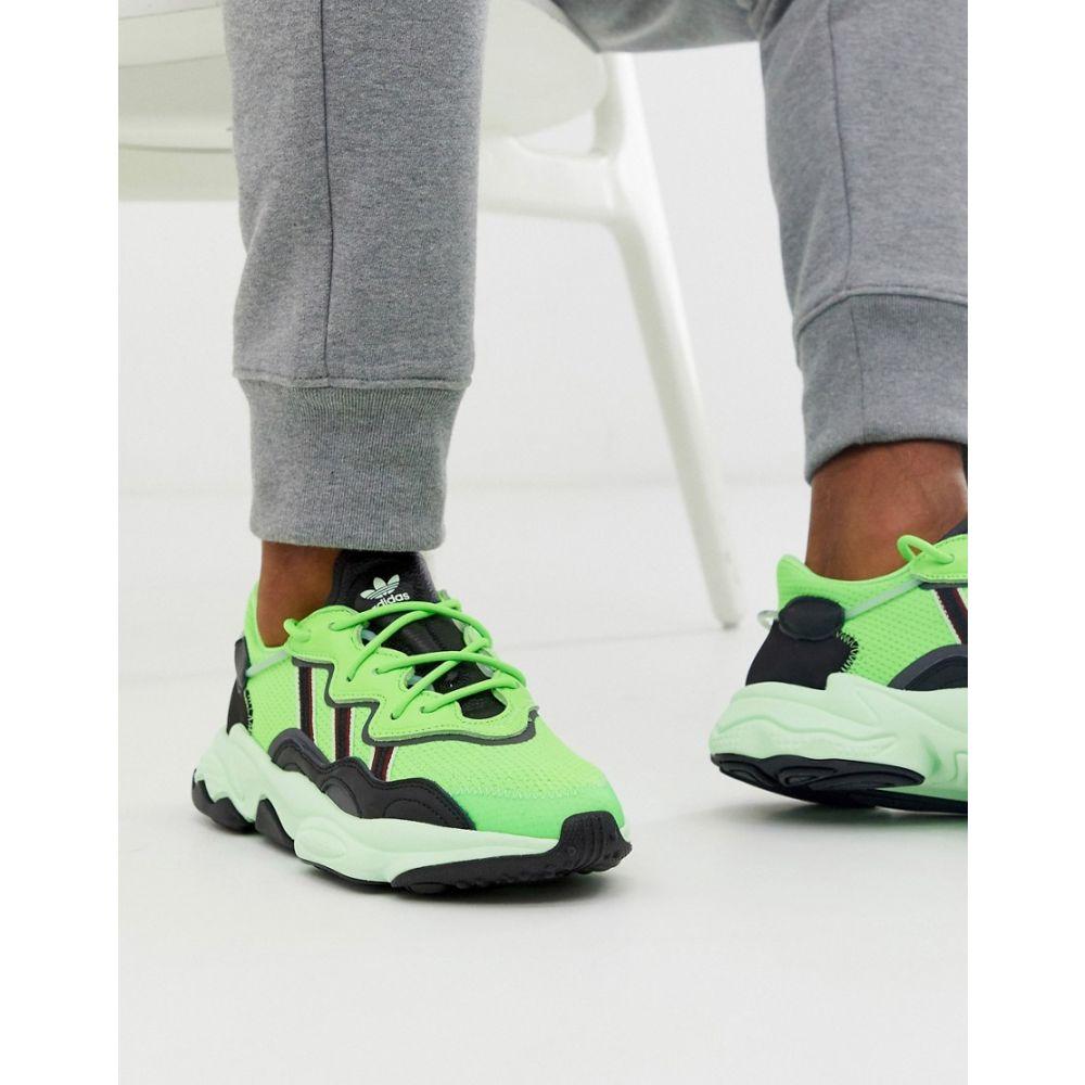 アディダス adidas Originals メンズ シューズ・靴 スニーカー【ozweego trainers in green】Green