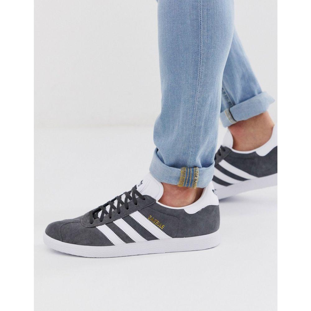 アディダス adidas Originals メンズ シューズ・靴 スニーカー【gazelle trainers in grey】Grey