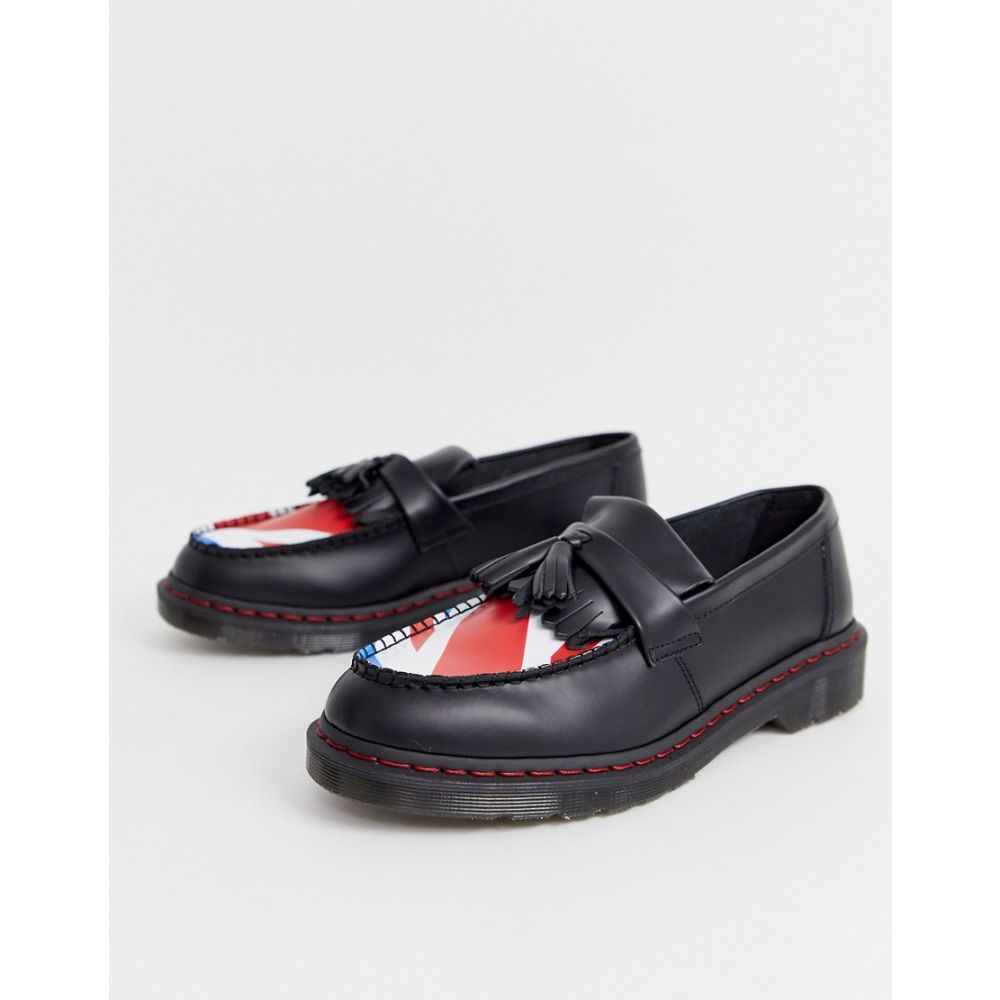 ドクターマーチン Dr Martens メンズ シューズ・靴 ローファー【x The Who adrian loafers with union target】Black