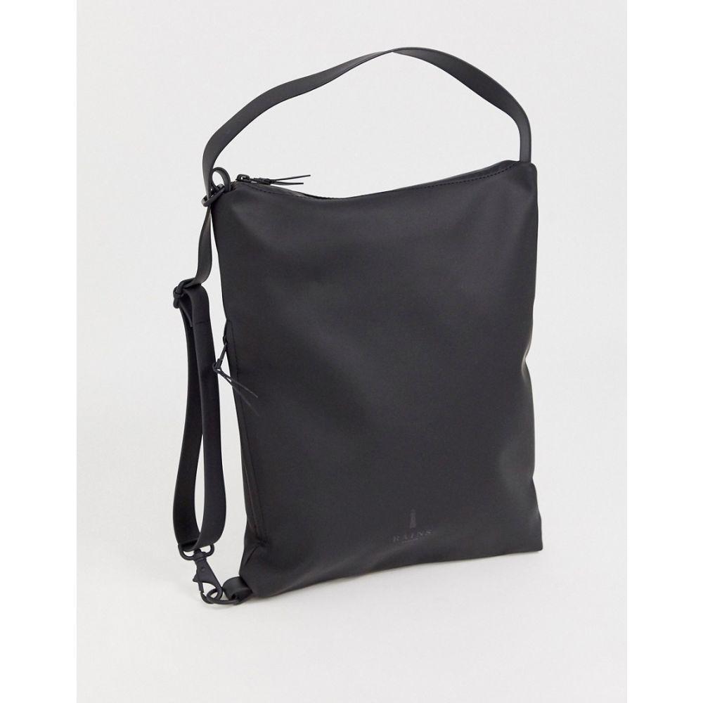 レインズ メンズ バッグ その他バッグ Black 【サイズ交換無料】 レインズ Rains メンズ バッグ【1308 Sling waterproof bag in black】Black