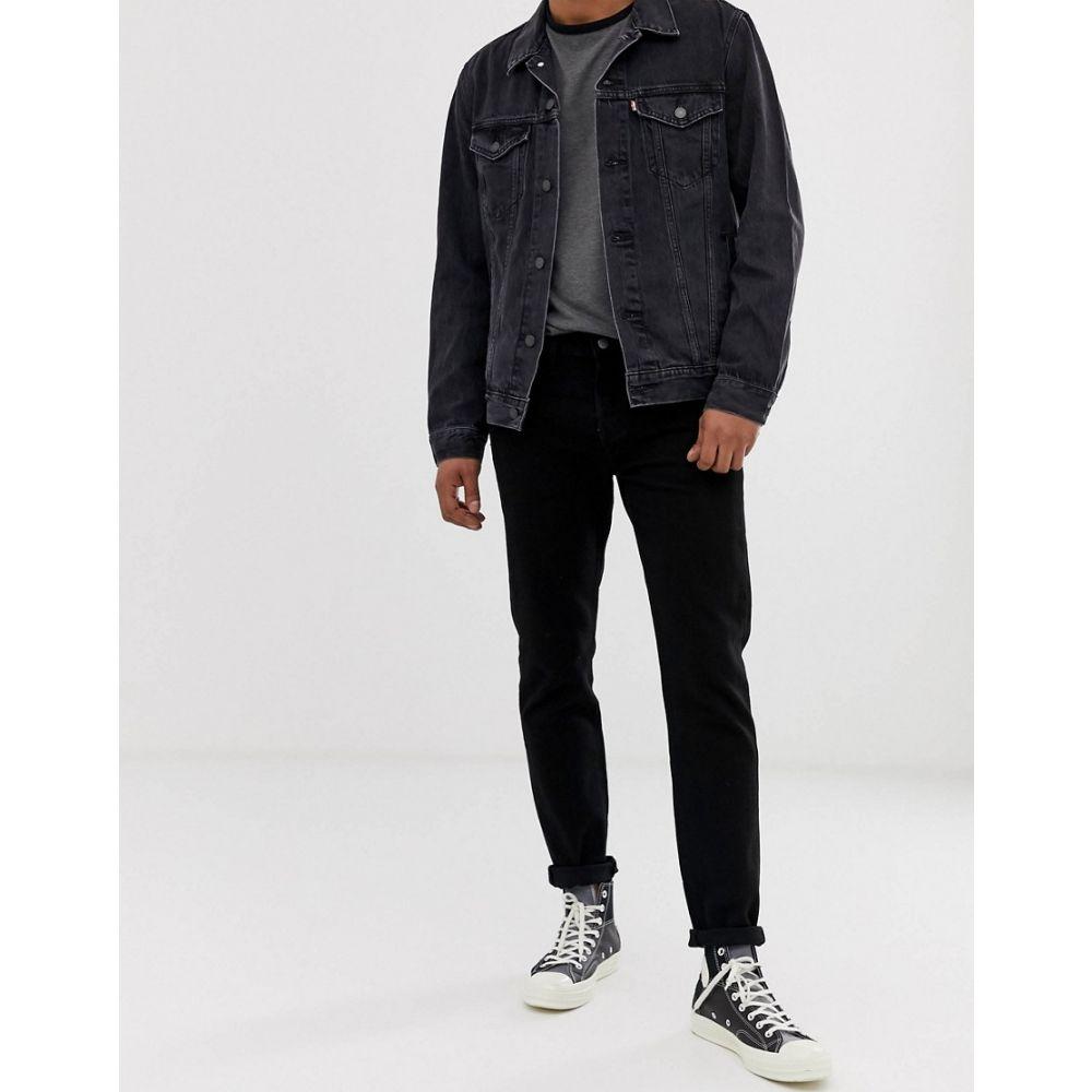 リーバイス Levi's メンズ ボトムス・パンツ ジーンズ・デニム【501 slim tapered low rise jeans in black black overdye】Black black overdye