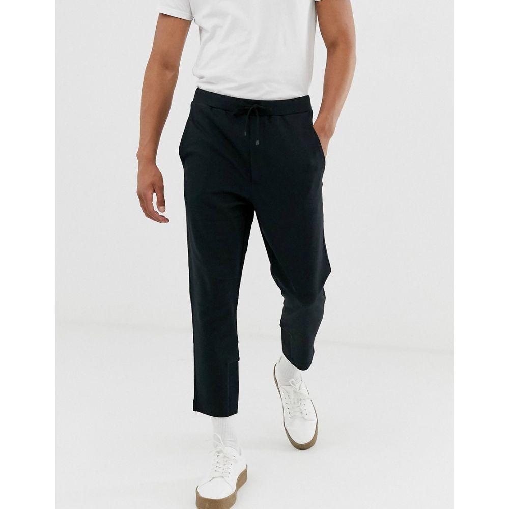 ヒューゴ ボス BOSS メンズ ボトムス・パンツ【Hugo Boss Dobigny drawstring trousers】Black
