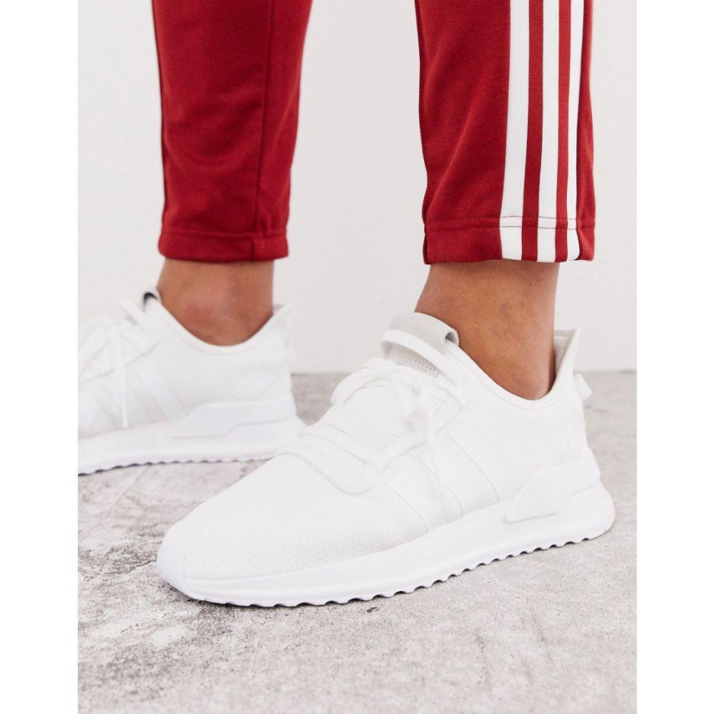 アディダス adidas Originals メンズ ランニング・ウォーキング シューズ・靴【U-path run trainers in triple white】White