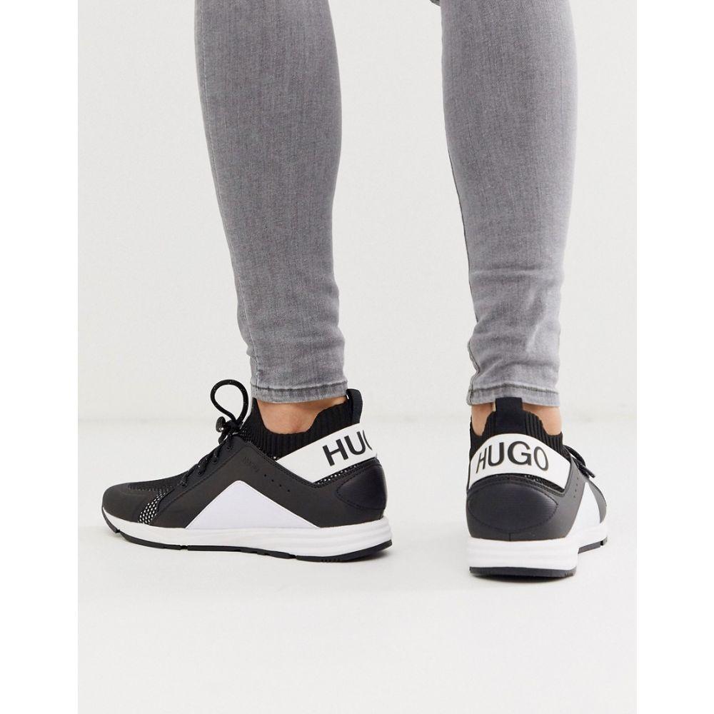 ヒューゴ ボス HUGO メンズ ランニング・ウォーキング シューズ・靴【Hybrid Runn trainers in white】White