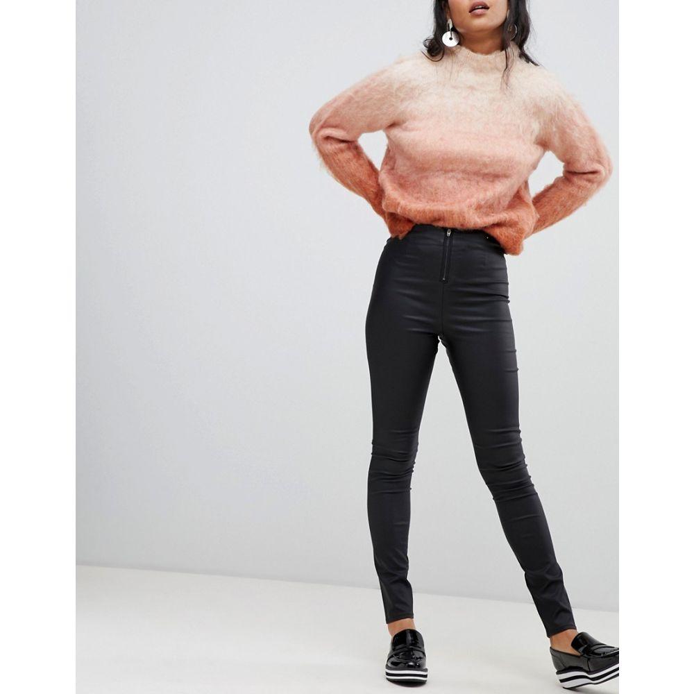 ヴィラ Vila レディース インナー・下着 スパッツ・レギンス【coated skinny leggings】Black