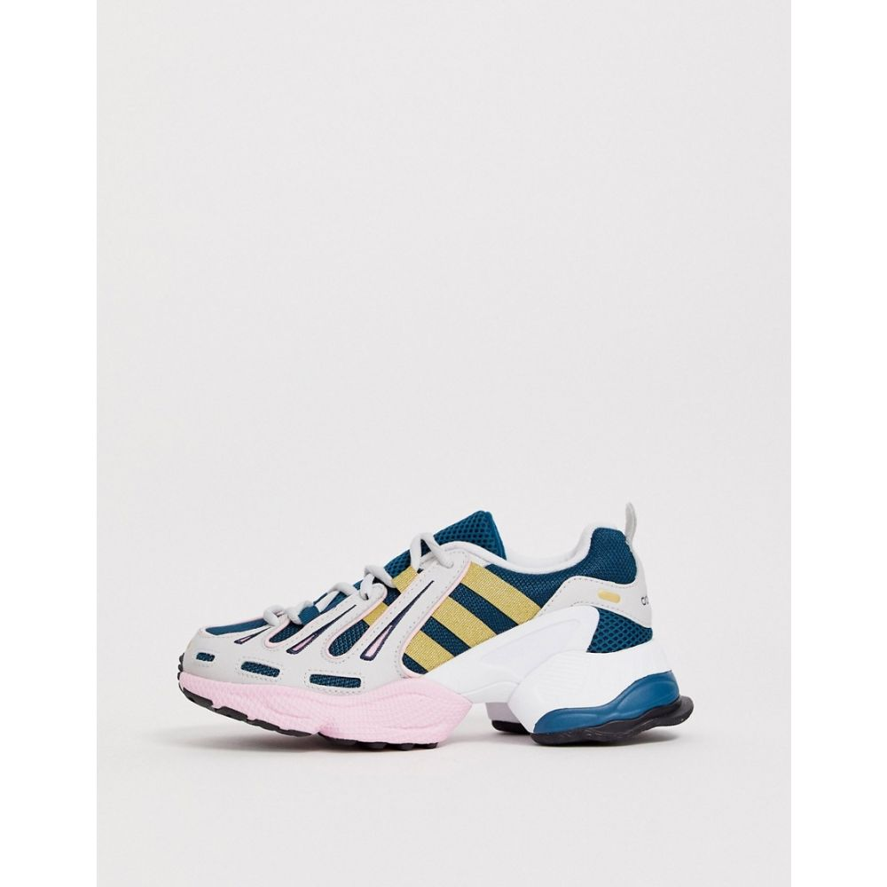 アディダス adidas Originals レディース シューズ・靴 スニーカー【EQT Gazelle trainers in navy and pink】Tech mineral