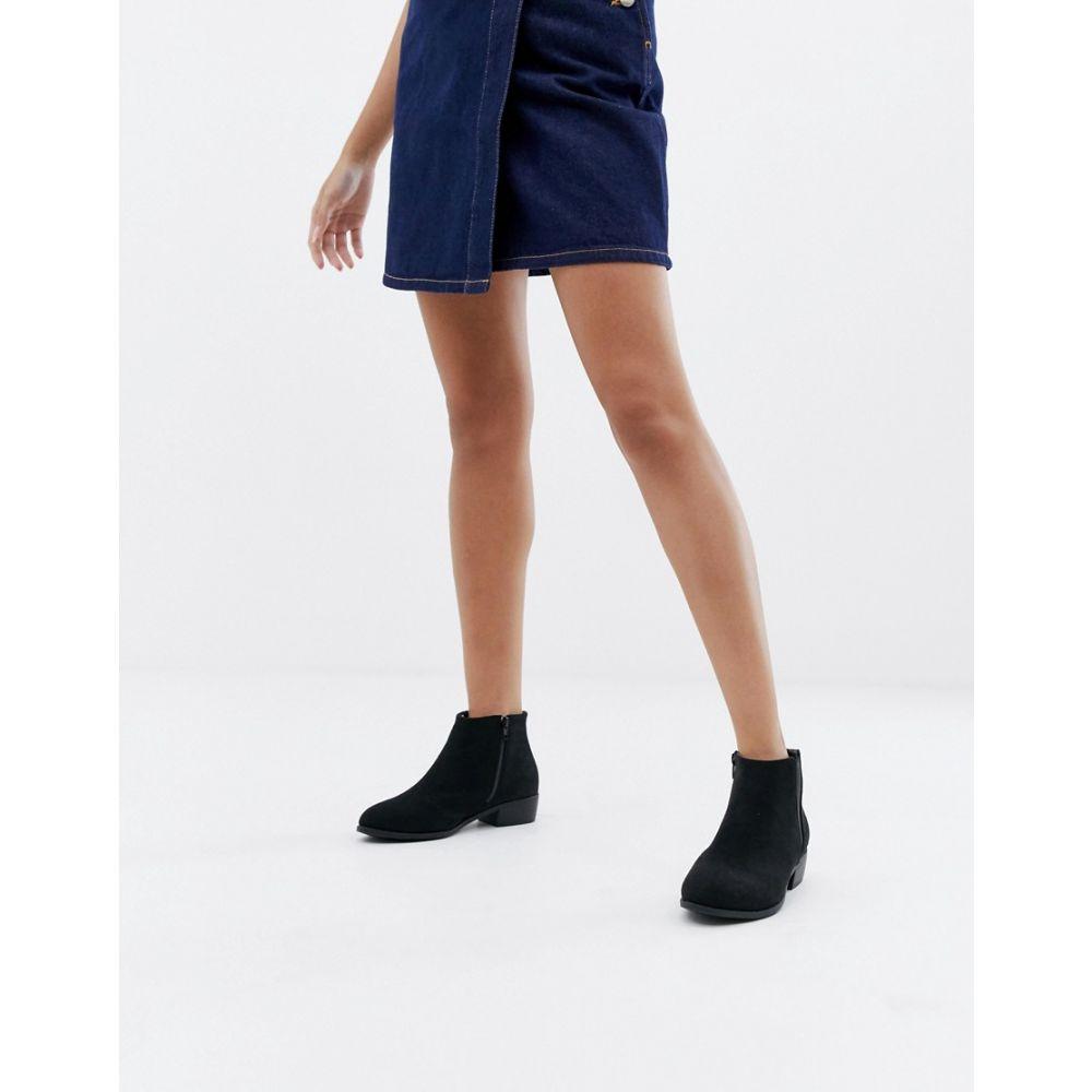 パークレーン Park Lane レディース シューズ・靴 ブーツ【Ankle Boots】Black