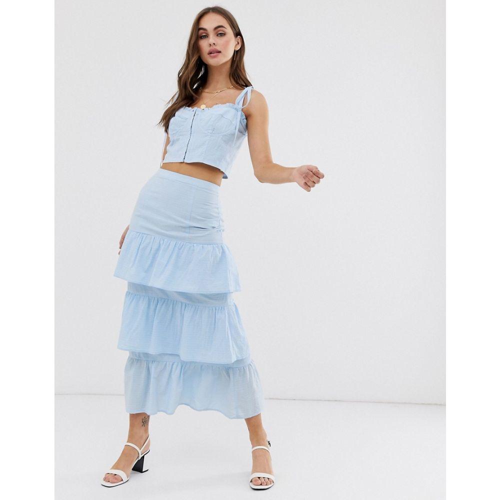 キャプレット Capulet レディース スカート【Lalaine tiered skirt】Bluebell