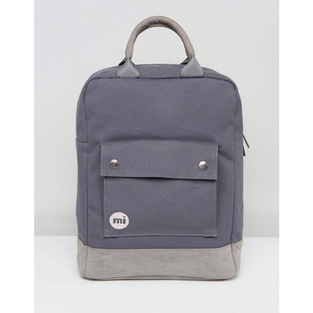 マイ パック Mi-Pac レディース バッグ バックパック・リュック【Tote Backpack in Charcoal】Grey