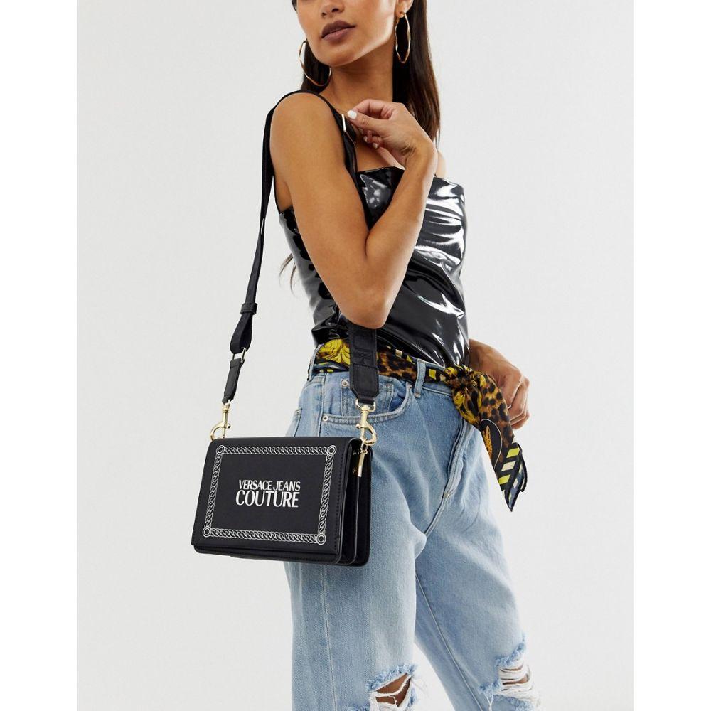 ヴェルサーチ Versace Jeans レディース バッグ ショルダーバッグ【Couture camera bag】Black