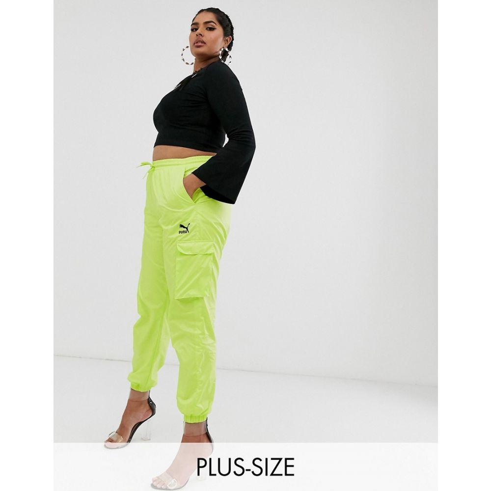 プーマ Puma レディース ボトムス・パンツ カーゴパンツ【Plus Cargo Trousers in Lime Green】Green