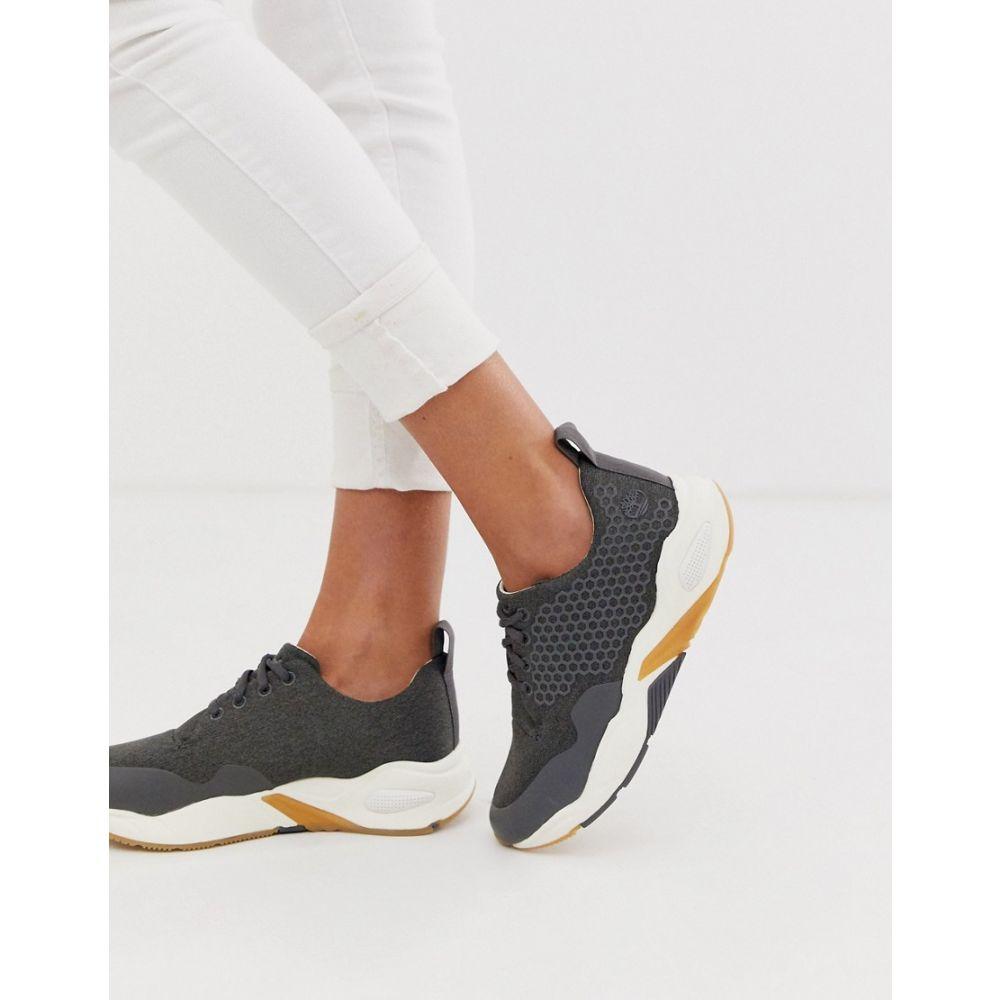 ティンバーランド Timberland レディース ランニング・ウォーキング シューズ・靴【Delphiville runner trainers】Jet black
