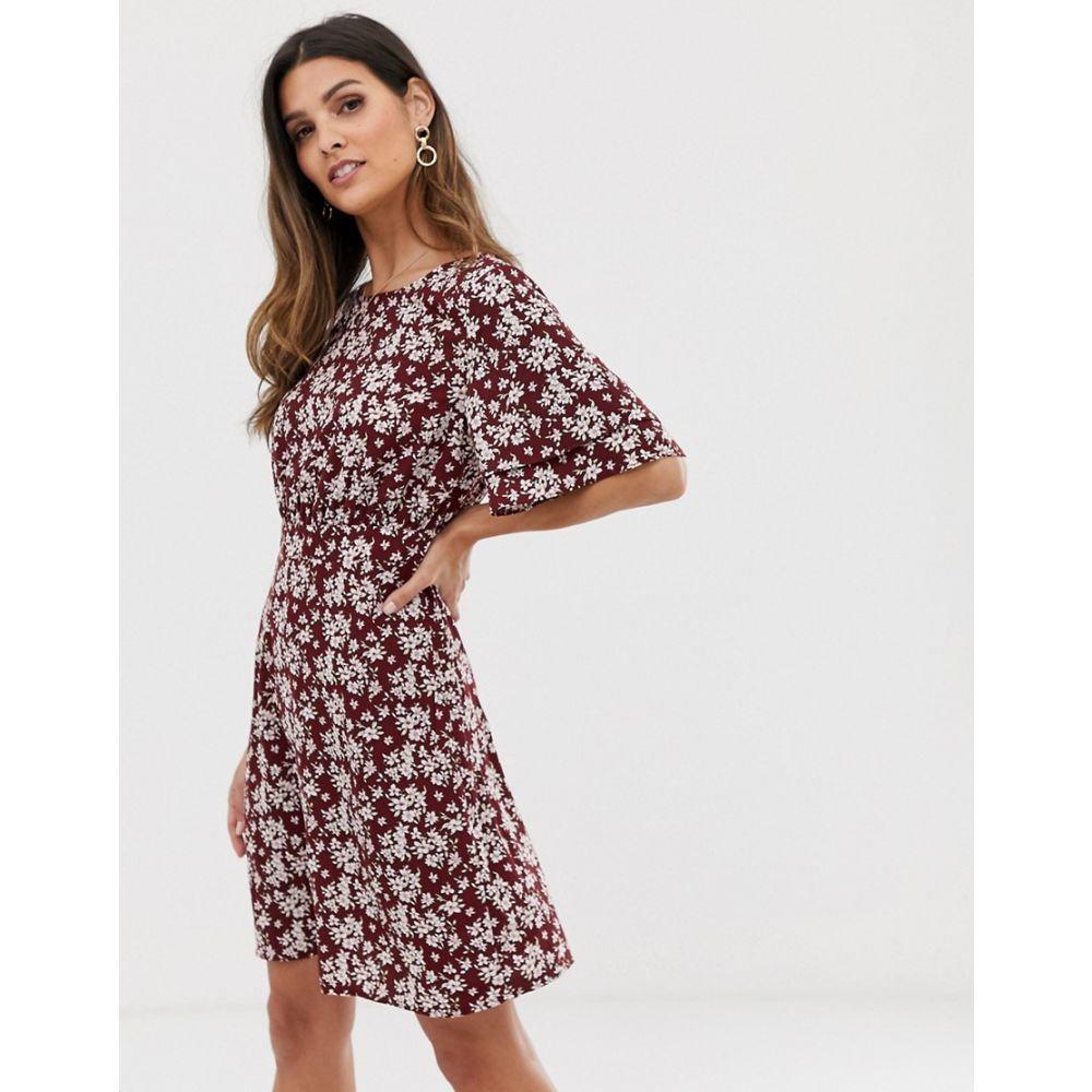 ヴィラ Vila レディース ワンピース・ドレス ワンピース【boho floral tea dress】Multi