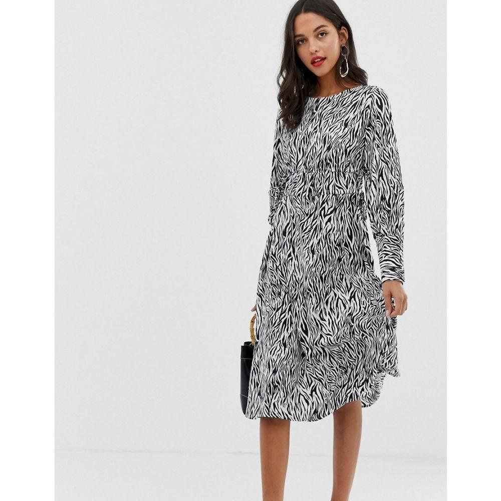 ヴィラ Vila レディース ワンピース・ドレス ワンピース【zebra print midi dress】Multi