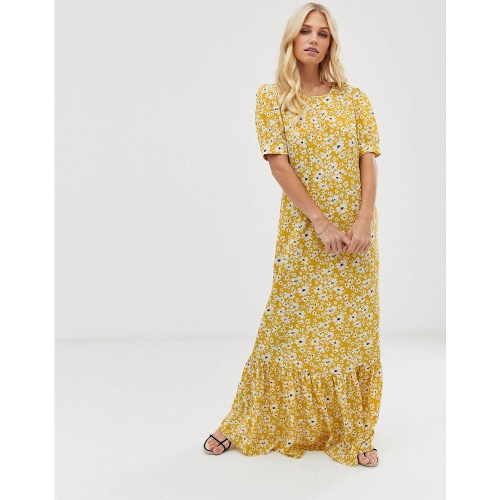 ヴィラ Vila レディース ワンピース・ドレス ワンピース【volume sleeve floral maxi dress】Multi