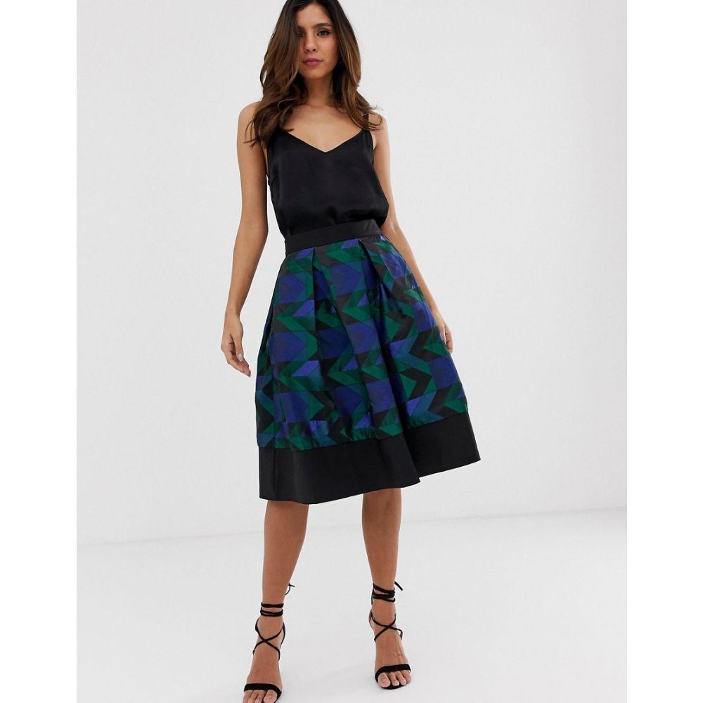 クローゼットロンドン Closet London レディース ワンピース・ドレス ワンピース【Closet full midi skirt】Multi