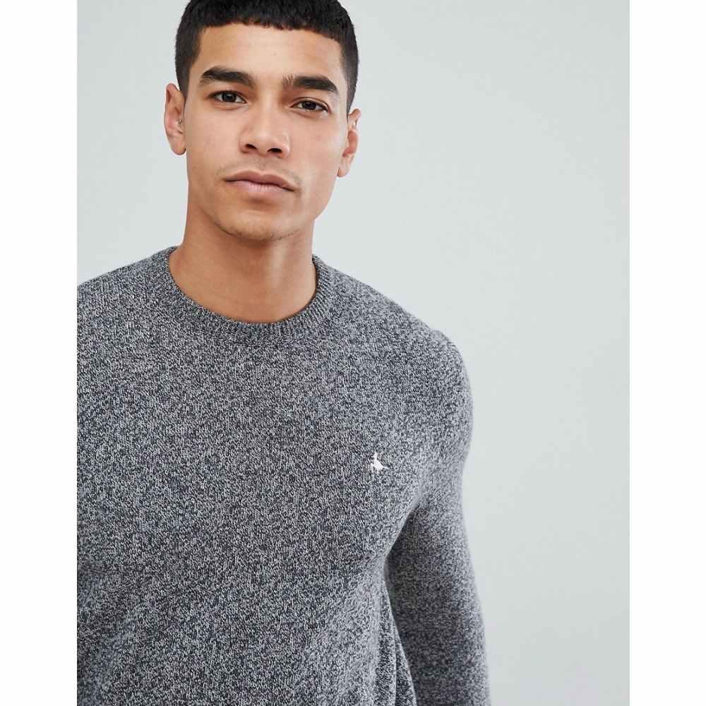 ジャック ウィルス Jack Wills メンズ トップス【Rye classic crew neck wool blend jumper in grey marl】Grey marl