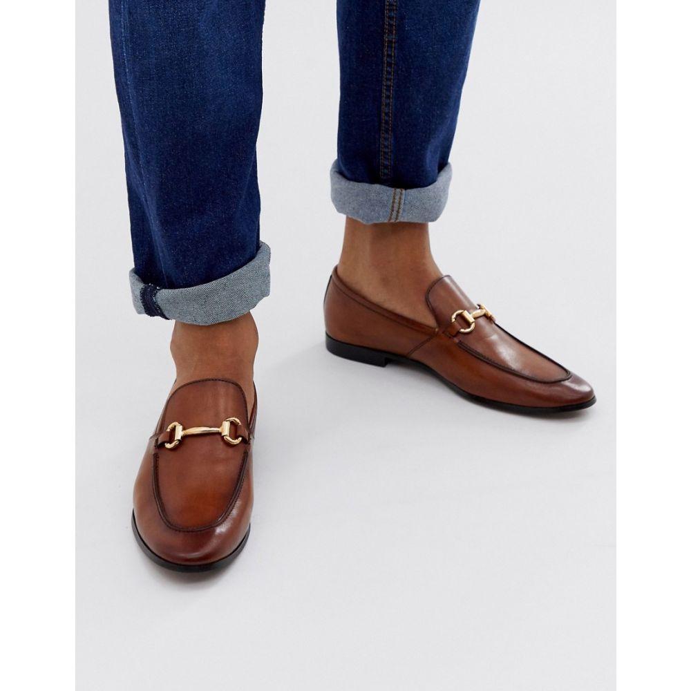 オフィス Office メンズ シューズ・靴 ローファー【lemming bar loafers in tan leather】Tan