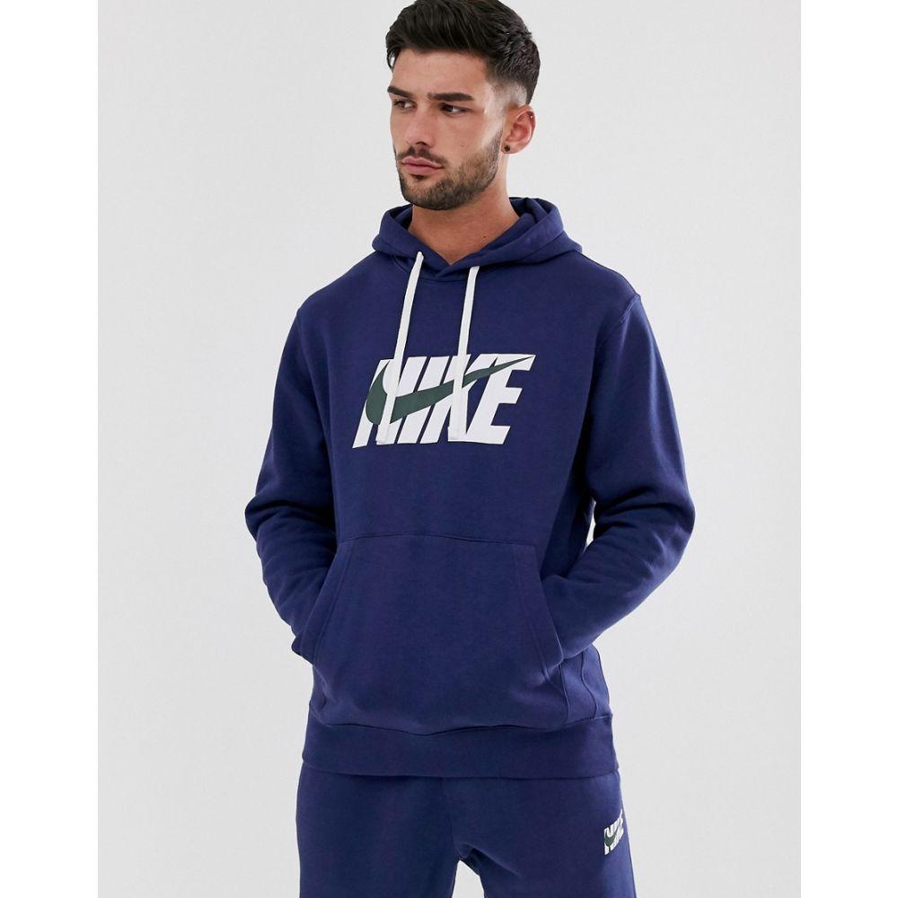 ナイキ Nike メンズ アウター ジャージ【swoosh logo tracksuit in navy】Nike