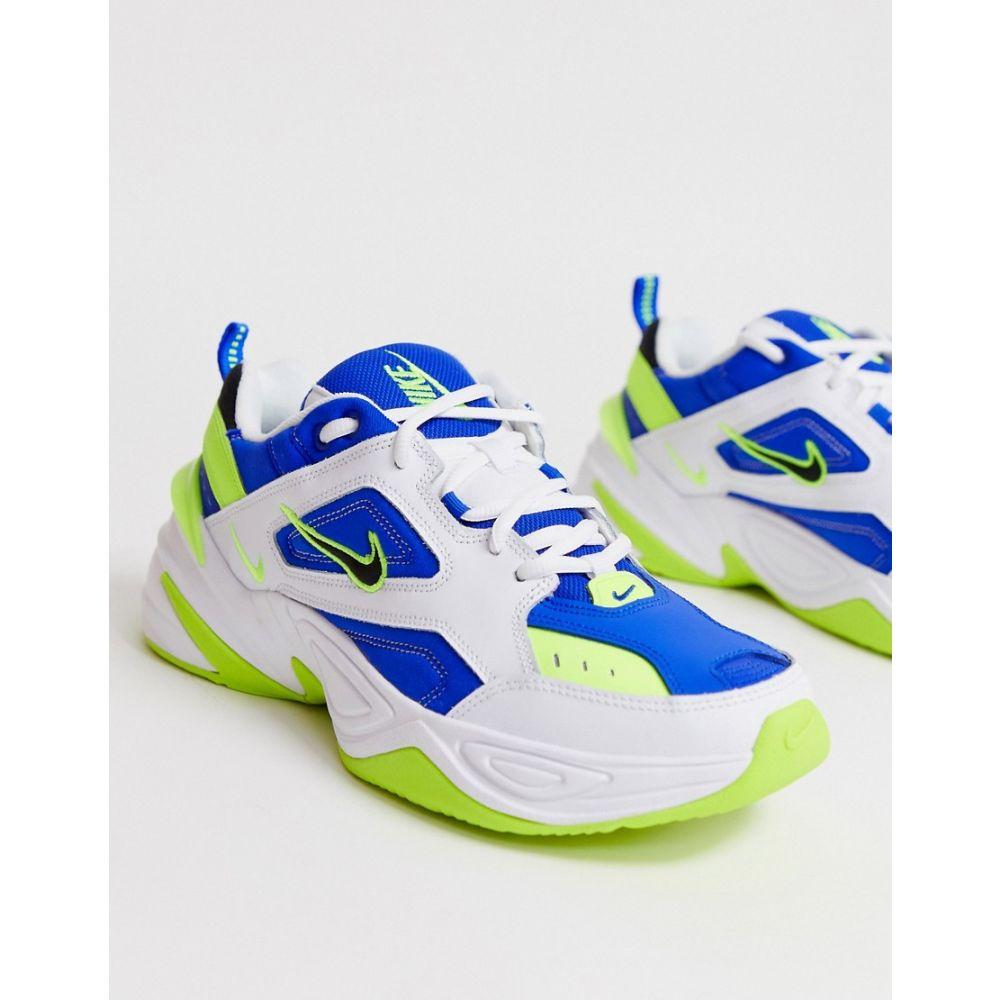 ナイキ Nike メンズ シューズ・靴 スニーカー【M2K Tekno trainers in blue and white】White