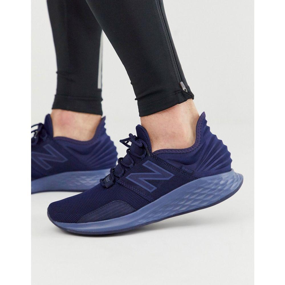 ニューバランス New Balance メンズ ランニング・ウォーキング シューズ・靴【Running Roav trainers in navy】Navy