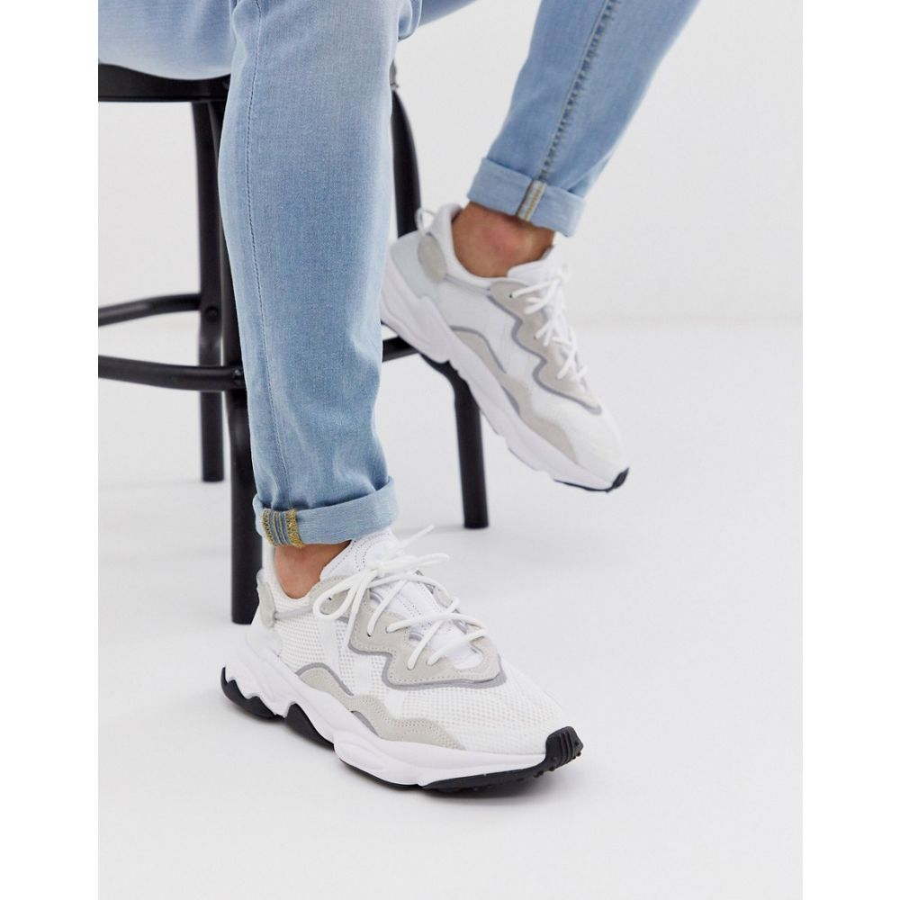 アディダス adidas Originals メンズ シューズ・靴 スニーカー【ozweego trainers in triple white】White