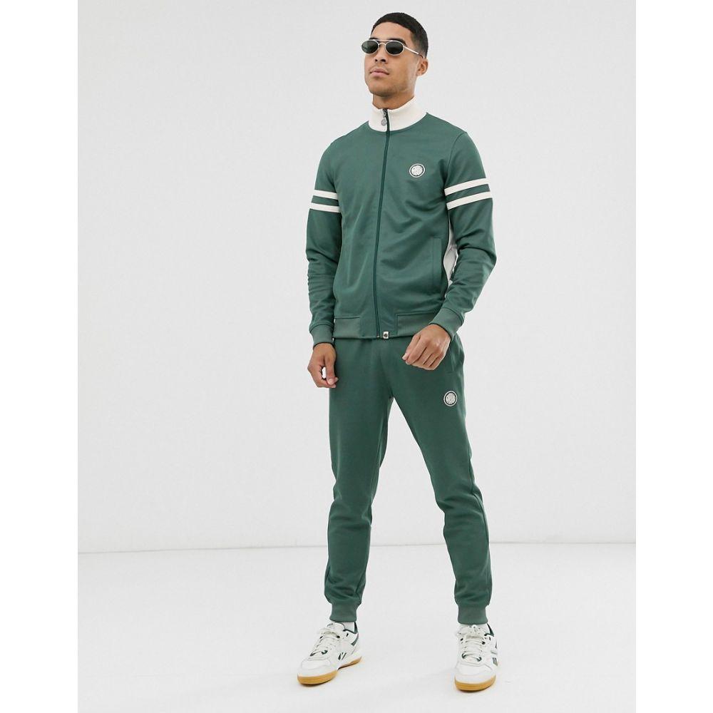 プリティー グリーン Pretty Green メンズ ボトムス・パンツ ジョガーパンツ【logo track joggers in green】Green