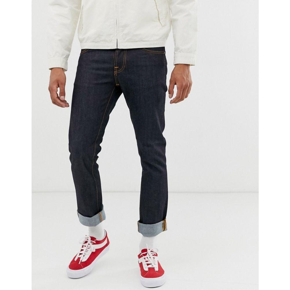 ヌーディージーンズ Nudie Jeans メンズ ボトムス・パンツ ジーンズ・デニム【Co Grim Tim slim straight fit jeans in dry true navy wash】Blue