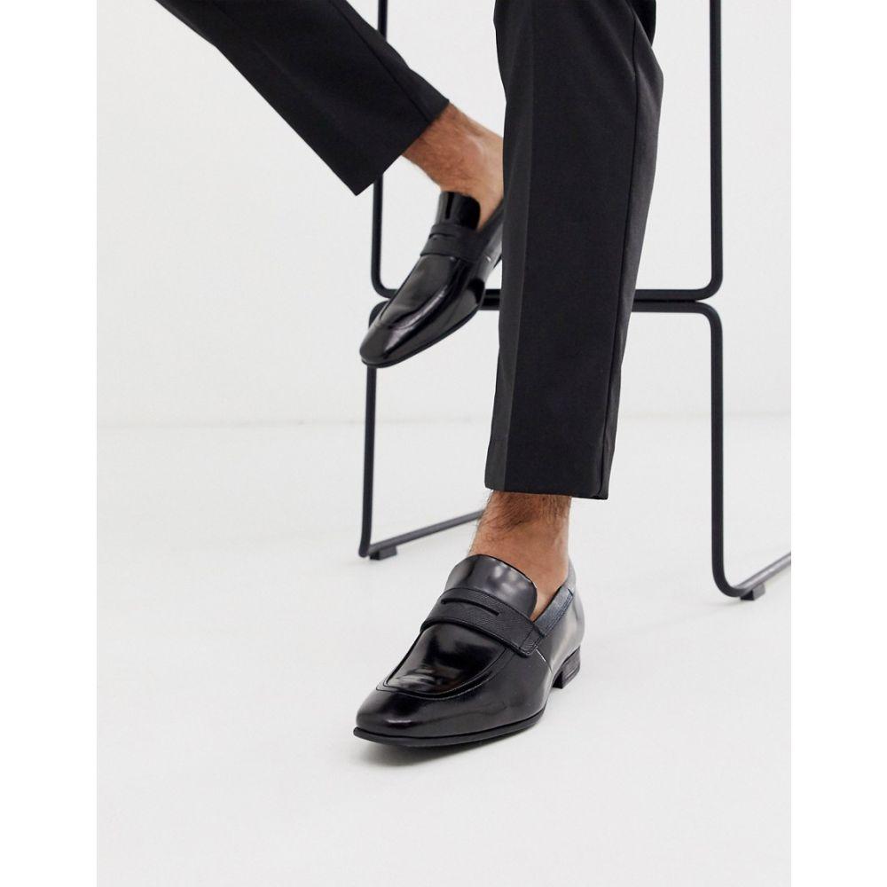 テッドベーカー Ted Baker メンズ シューズ・靴 ローファー【gaelhi loafers in black hi shine】Black