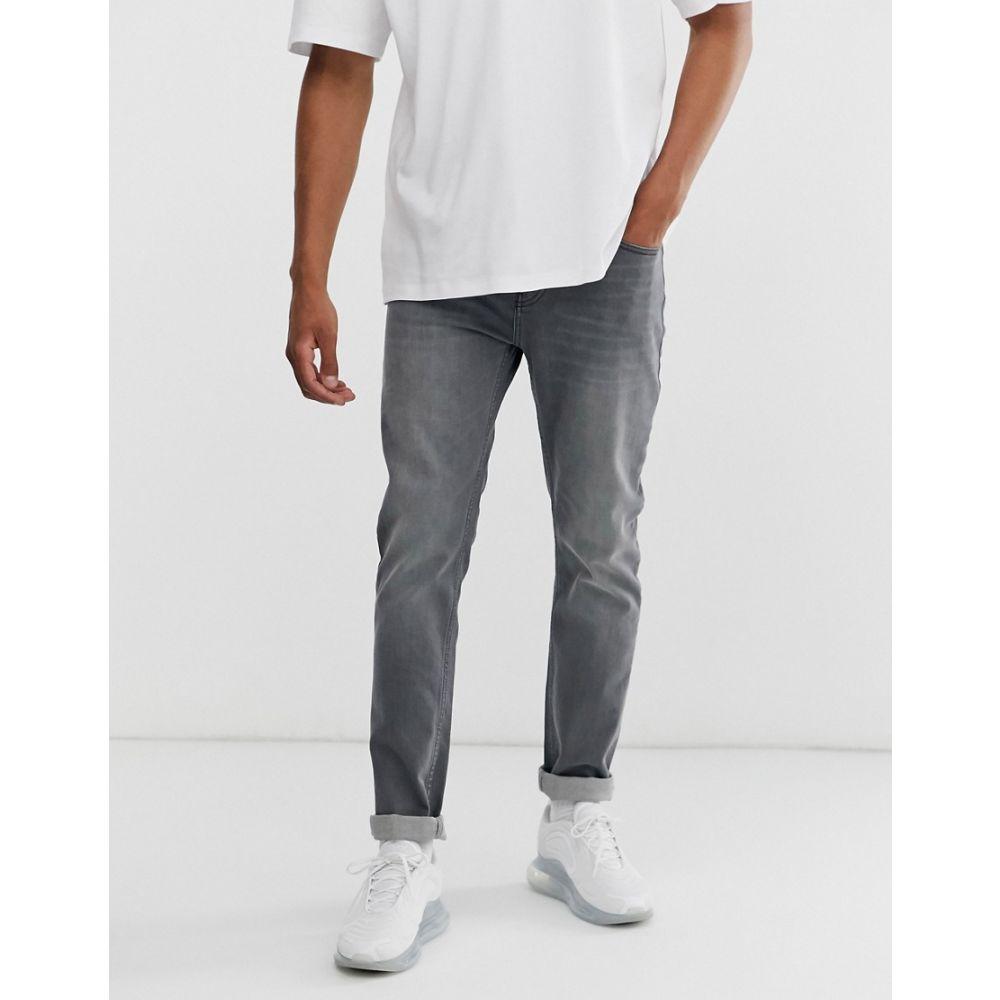 ヒューゴ ボス BOSS メンズ ボトムス・パンツ ジーンズ・デニム【Taber tapered fit jeans in grey】Grey
