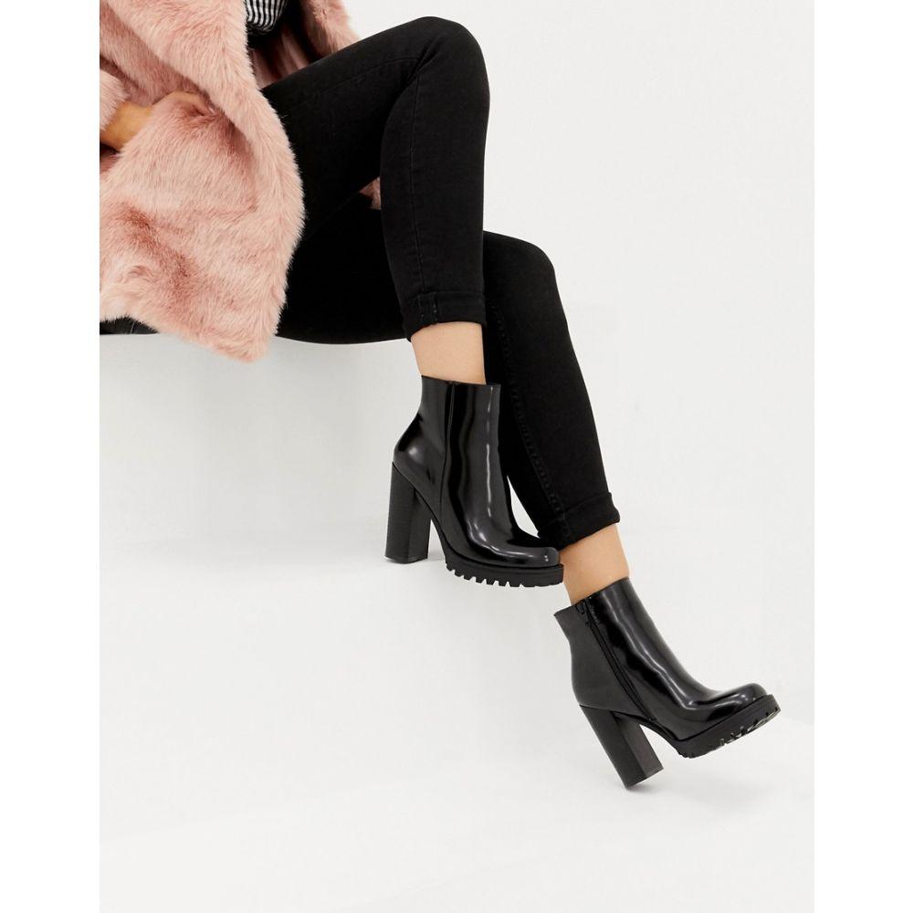 パークレーン Park Lane レディース シューズ・靴 ブーツ【Platform Boots】Black