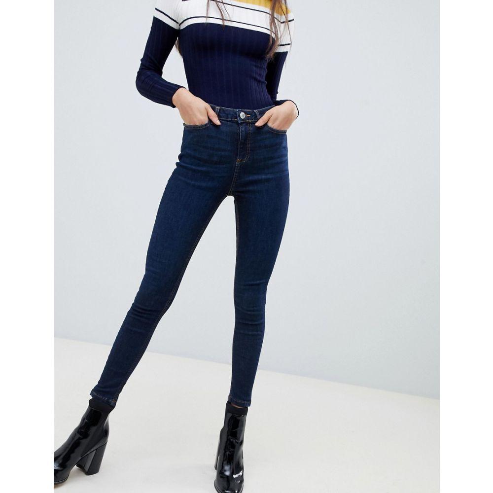 ミス セルフリッジ Miss Selfridge レディース ボトムス・パンツ ジーンズ・デニム【Lizzie skinny jeans in indigo】Indigo
