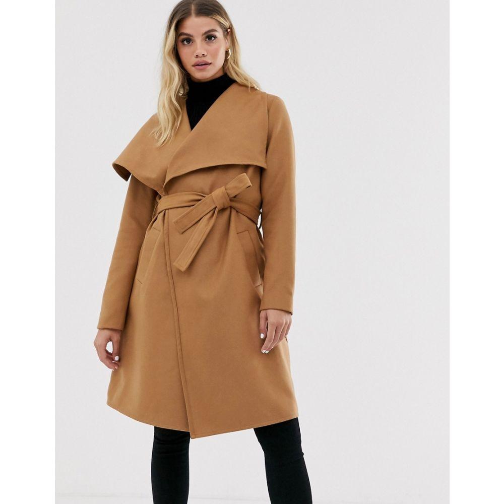 ジェイディーワイ JDY レディース アウター コート【wrap coat】Tobacco brown