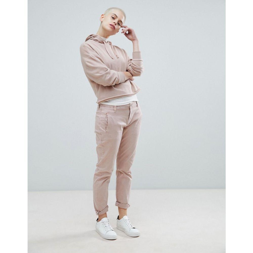 セレクテッド オム Selected レディース ボトムス・パンツ【Femme tapered chino trouser】Pink
